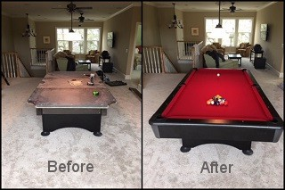 expert pool table recovering in Oakland content img3